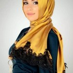 silky Arabic Scarf Collection For Girls 2013-2014