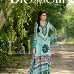 Blossom by Lala Textile Latest Eid Lawn Collection 2013 005