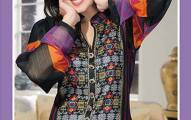 Hajiba De Chiffon Eid Collection 2013 By Dawood Lawn (2)