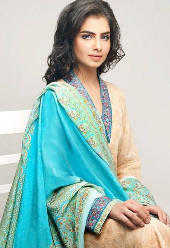 Kiran Komal Pearl summer wear dress collection for girls by Shabbir textile ltd (11)