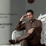 Nabeel and Aqeel Eid kurta collection for men 2013 (3)