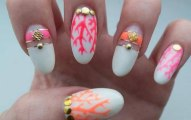 Very Stylish party nails for girls