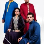 Satrangi by saqib formal wear collection 2013 for men and women (11)