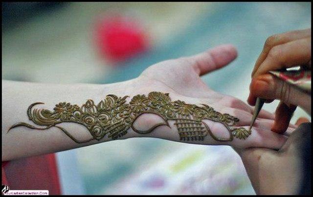 Simple Eid Mehndi Designs 2013 : Eid mehndi designs chand raat for girls