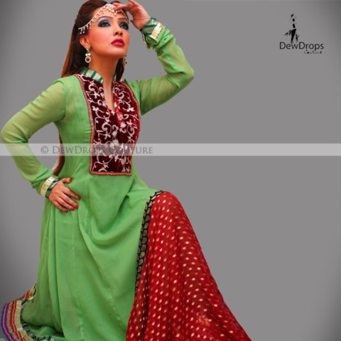 Dewdrops Couture Formal Dresses 2013 For Girls and women (5)