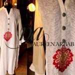 Women Party Wear Dress Collection by Naureen Arbab (8)