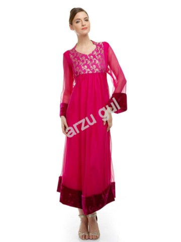 Beautiful Elegance Party Wear Frocks For Women By Arzu Gul