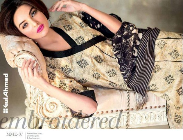 Gul Ahmed Ideas Winter Dress Collection for Ladies