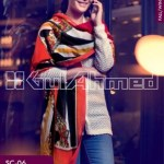 Gul Ahmed Pashmina Scarves Dresses 2013-2014 for Ladies (3)