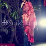 Gul Ahmed Pashmina Scarves Dresses 2013-2014 for Ladies (7)