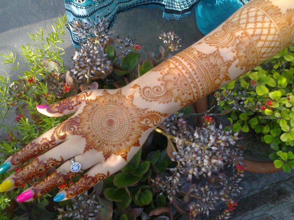 Indian Bridal Mehndi Designs 2013 For Girls