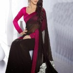 Indian Latest Black Saree Collection 2013-14 for Women (3)