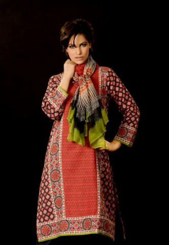 Latest Unstitched Khaadi Winter Dress Collection For Women