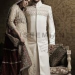 Naushemian Bride and Groom Wedding Collection 2013-14 By Nauman Arfeen (2)