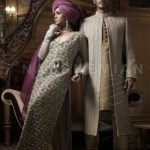 Naushemian Bride and Groom Wedding Collection 2013-14 By Nauman Arfeen (4)