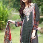 Rabea Designer Embroidered Linen Winter Collection 2013-14 For Women (8)