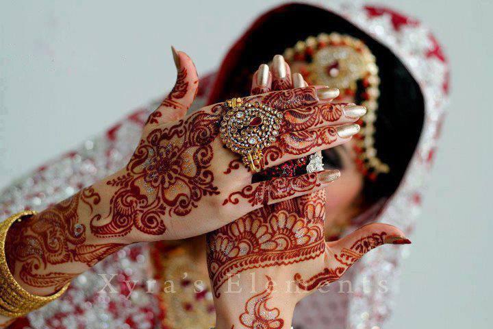 Indian and Pakistani Bridal Mehndi Designs 2013-14 (1)