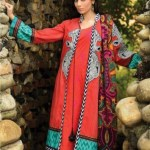 Umar Sayeed Beautiful Embroidered Winter Collection 2013-14 by Alkaram (2)