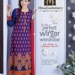 Winter Dresses For Girls Collection 2013-14 by Mausummery