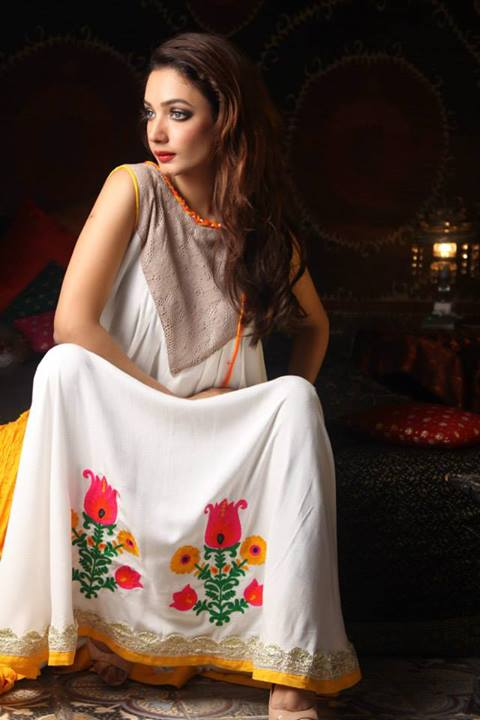 Cotton Ginny Fashionable Winter Dress Collection 2013-14
