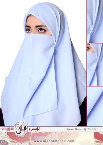 Al Karam Qadri Scarves Hijab For Muslim Girls