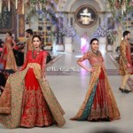 HSY Stylish Embroidery Bride Groom Dresses at Pantene Bridal Couture (5)