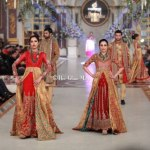 HSY Stylish Embroidery Bride Groom Dresses at Pantene Bridal Couture (4)