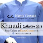 Khaadi Kurta Corner Winter Kurta 2013-2014 for Men (1)