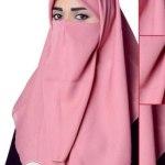 Elegance Muslim Girls Hijab Scarves By Al Karam Qadri