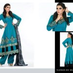 Nation Winter Dresses by Riaz Art For Women (3)