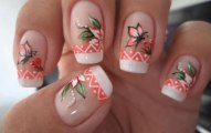Patels Flower Nail Designs For Christmas Day (2)