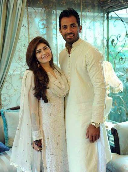 Wahab Riaz Waleema Party