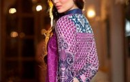 2014 lawn collection of Crescent by Faraz Manan