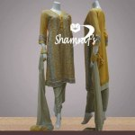 fresh dress collection 2014 by Shamraf's