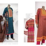 lawn dresses latest designs for women 2014 by Junaid jamshed