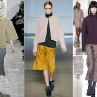 Ways to Wear Wide Leg Pants Fall/Winter 2014