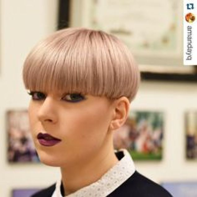 2017 Fall 2018 Winter Hairstyles - Bowl Cut