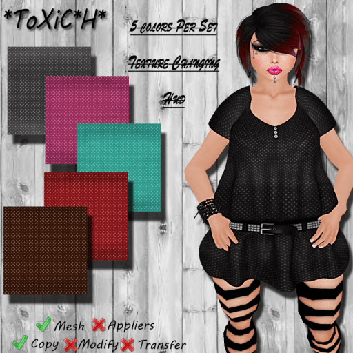 _ToXiC_H_ Lilly Blouse - Dress Connect The Dotz
