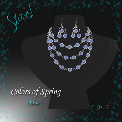 Colors of Spring (blue)