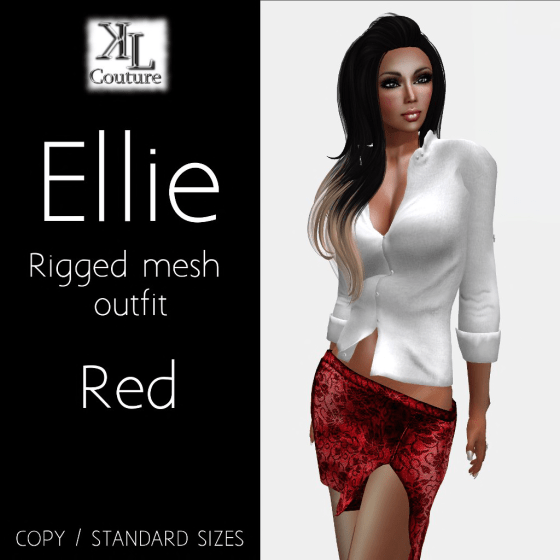 Ellie red