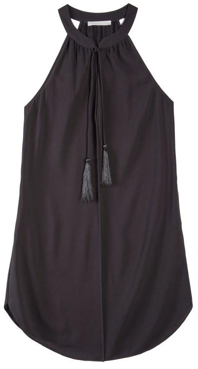 Black Layla Tassel Dress