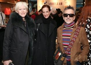Joanna Coles, Vanessa Friedman, Simon Doonan