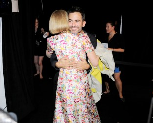 MARC JACOBS Spring 2013 Fashion Show - Arrivals & Backstage