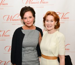 Gayfryd Steinberg, Dr. Patricia Allen==Women's Voices for Change Luncheon in honor of Christy Turlington Burns, 2015 Champion For Change==Private Manhattan Club, NYC==September 21, 2015==©Patrick McMullan==Photo - Jared Siskin/patrickmcmullan.com== ==