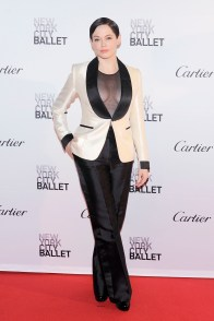 Rose McGowan== New York City Ballet 2015 Fall Fashion Gala== Lincoln Center, NYC== September 30, 2015== ©Patrick McMullan== Photo - Nicholas Hunt / PatrickMcMullan.com== ==