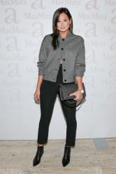 wearing Max Mara, Danielle Bernstein