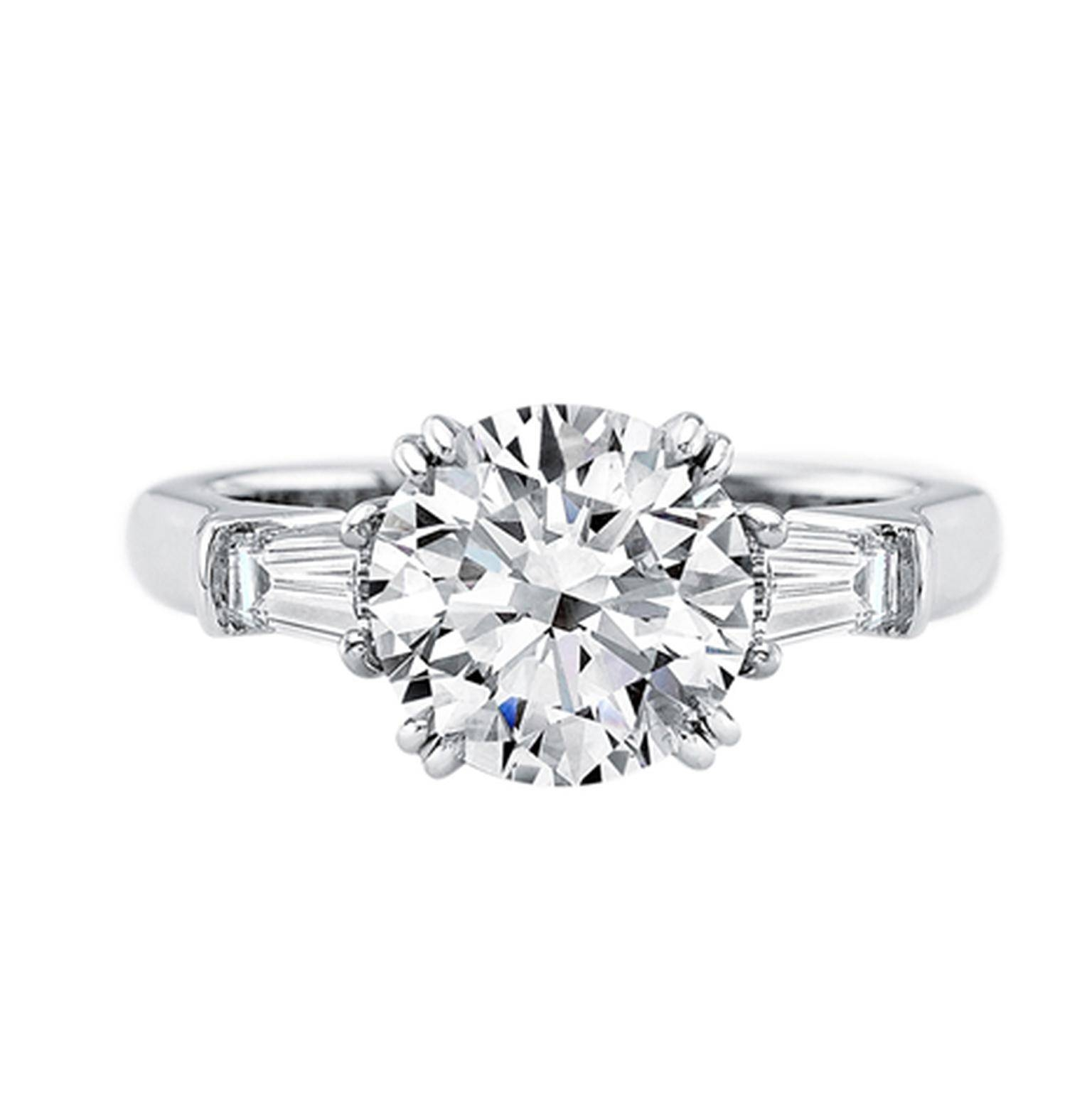 Fantastic Harry Winston Classic Winston Platinum Diamond Engagement Intended Harry Winston Engagement Rings Of Harrywinston Engagement Rings Photo Gallery wedding rings Harry Winston Engagement Rings