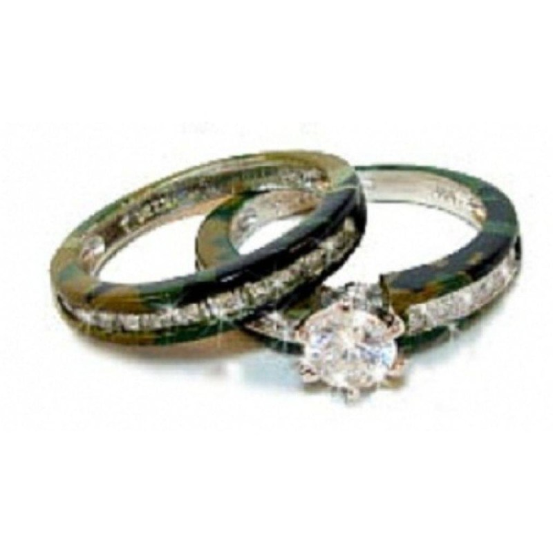 Large Of Camo Wedding Rings
