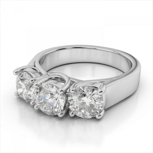 Medium Of 3 Carat Diamond Ring