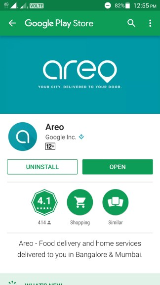 How to use Google Areo?
